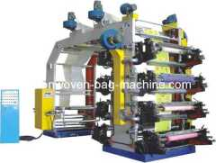 High-speed flexographic printing machinery