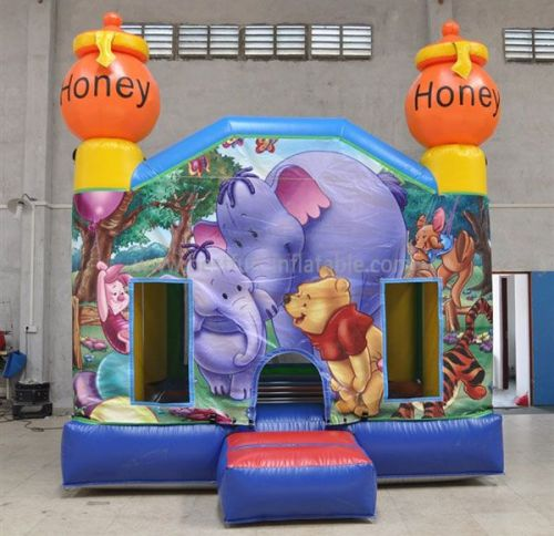 The Winnie The Pooh Inflatable Castles For Sale