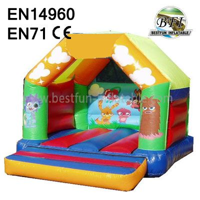 Happy Jump Inflatable Moshi Monster Bounce House