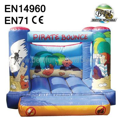 Children Inflatable Pirate Jumping Castles