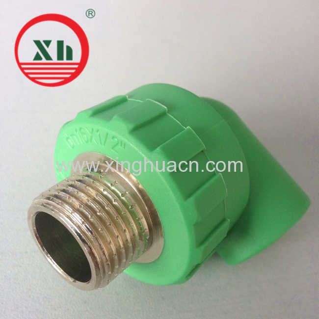 16mm PPR Male Elbow Fitting
