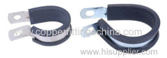 Rubber Cushioned Pipe Clamp Supplier
