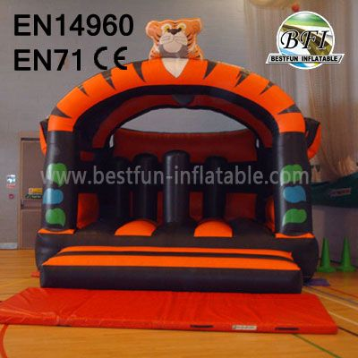 Hot Sale Inflatable Tiger Castles