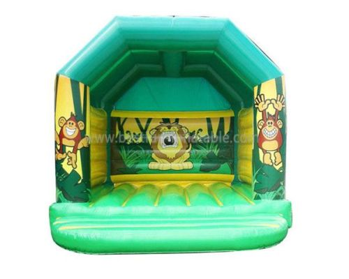 Jungle Inflatable Jumping Castles For Sale