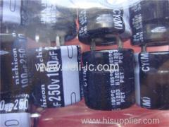 LGJ2E101MELY - ALUMINUM ELECTROLYTIC CAPACITORS - Nichicon corporation