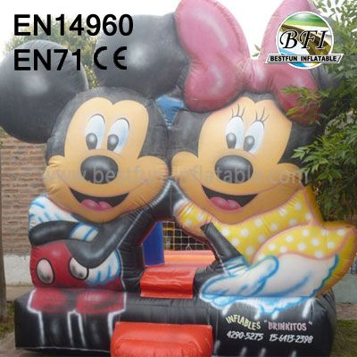 Inflatable Mickey And Minnie Mouse Bonce House