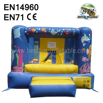 Under The Sea Inflatable Jumping Bouncy Castle