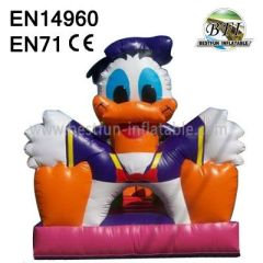 Backyard Inflatables Duck Castle