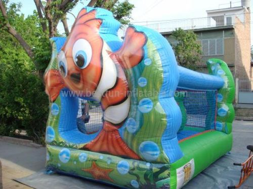 Inflatable Mini Fish Castles