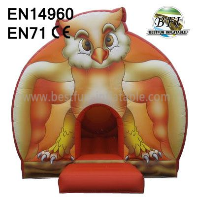 Fun Inflatable Owl Castles Jumper