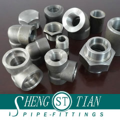 High Pressure Forged Steel Pipe Fitting (1/8