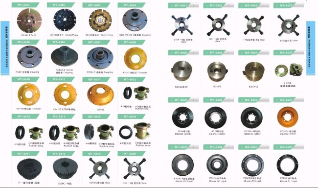 LS280 K3V112 Disk Damper for excavator