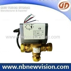 Motorized Valve for Central Air-conditioner