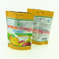 30g gold foil packaging bag for food stand up pouch