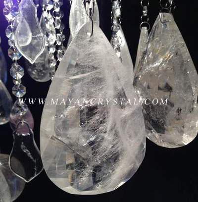 Rock Quartz Crystal Chandelier Manufacturer From China Donghai Mayan - Quartz chandelier crystals