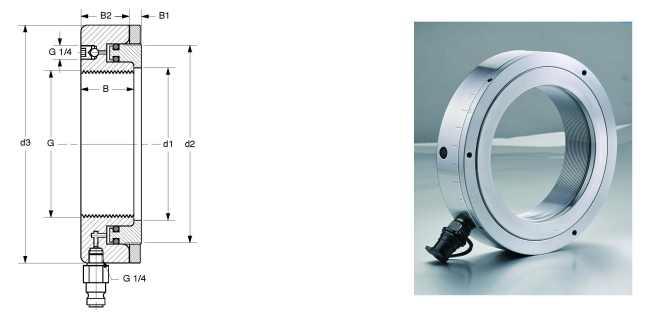 ADP hydraulic nuts bearing