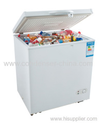 Flat single door opening refrigeration