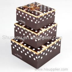 paper box for gift package