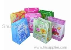 color printed paper bag, lovely bag