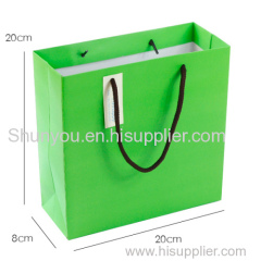 paper bag for cosmetics, good quality paper bag