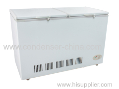 Top double door 258L refrigeration
