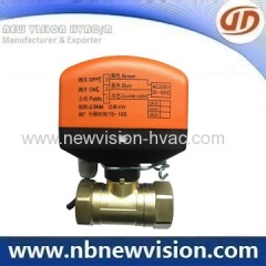 Motorized Ball Valve for Water