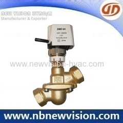 Dynamic Balance Motorized Valve
