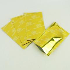 Sterile gold opaque foil plastic bags