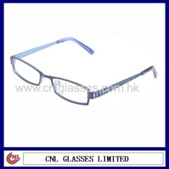 Custom metal designer eyeglasses frame for men and women