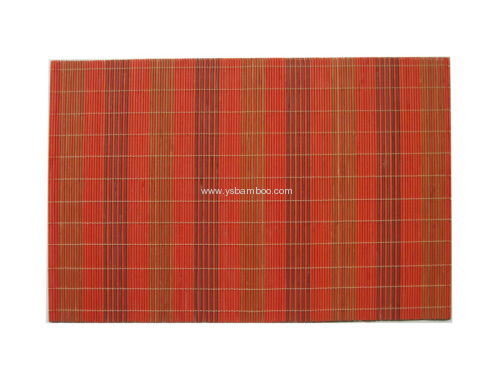 super colourful bamboo placemat