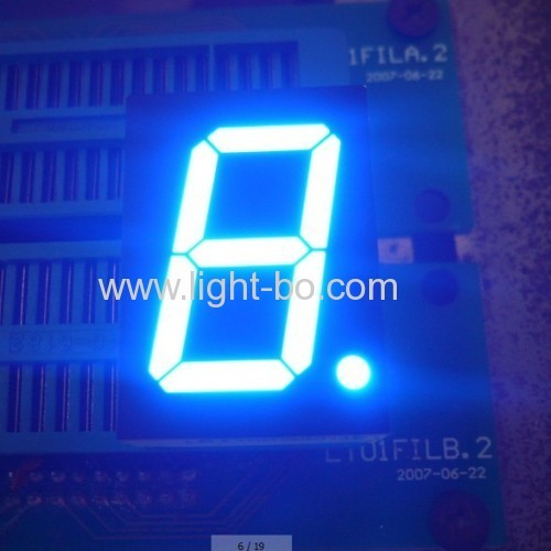 Ultra Bright Blue Ande 0.8(20.4mm) 7-Segment LED Display for Elevator Position Indicators