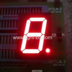 Super luminoso rosso 1 cifra 0,8 pollici comuni anodo 7 segmento led display per indicatore di posizione di ascensore