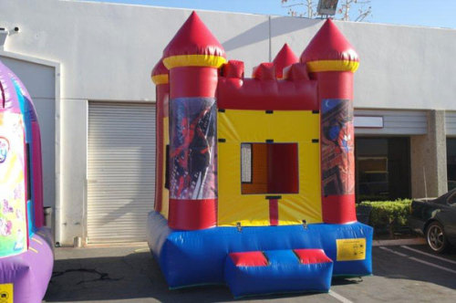 Mini Inflatable Spider Castle
