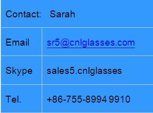 Customized two tone color sunglasses with engraved color logo