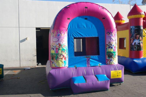 Inflatable Princess Moon Bounces For Sale