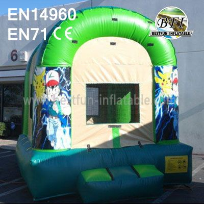 Standard Inflatable Pokemon Castle