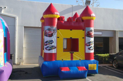 Nascar Inflatables Bounce House