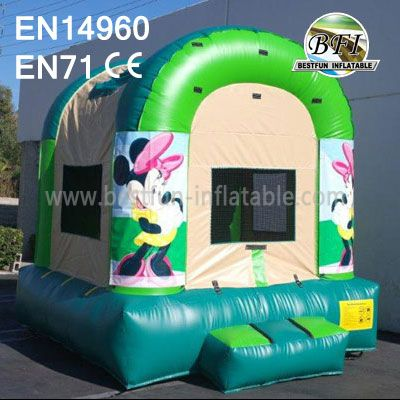 Minnie Mouse Inflatable Bouncer With Website
