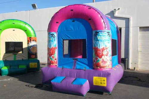 Girls Party Inflatable Bouncer