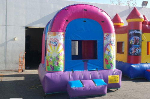 Inflatable Little Pony Jump Bounce