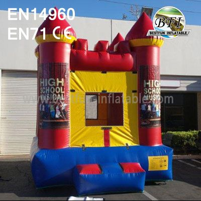 High School Inflatable Castle With Best Price