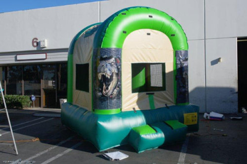 Inflatable Dinosaur Jumper Rental With Website