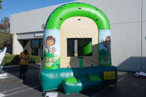 Diego Theme Inflatable Moon Bounce For Sale