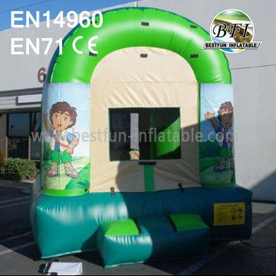 Inflatable Diego Bounce House With Website