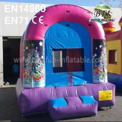 Inflatable Christmas Bounce House With Website