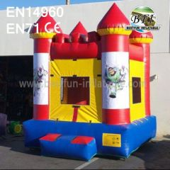Inflatable Buzz Bounce House With Website