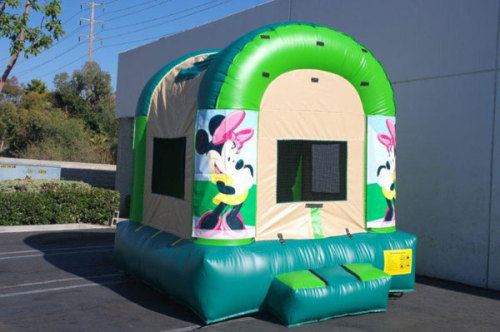 Inflatable Minnie Bouncer With Website