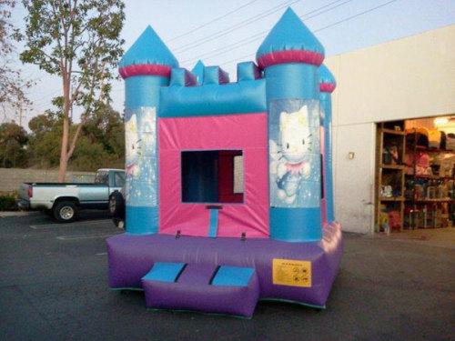 Blue Hello Kitty Air Bounce