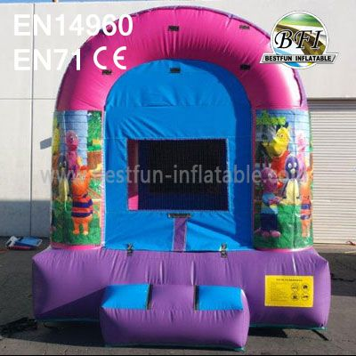 Inflatable Backyardigans Bounce House For Children