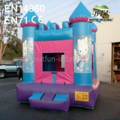 Commerical Inflatable Hello Kitty Bounce House